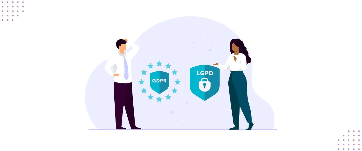 Diferenças entre GDPR e LGPD.